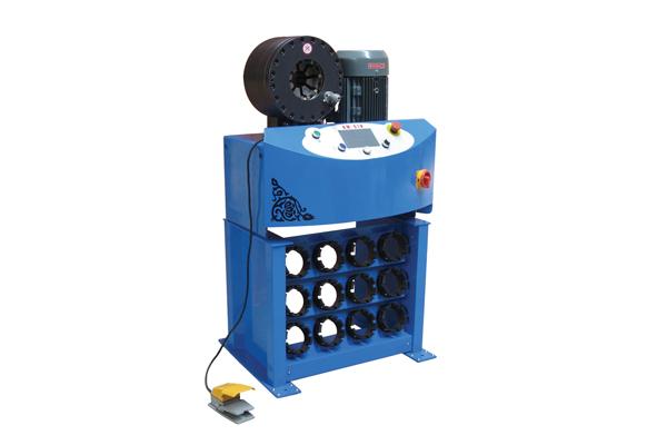 Stroj za stiskanje hidravličnih cevi z visokim pritiskom za promocijo malih podjetij